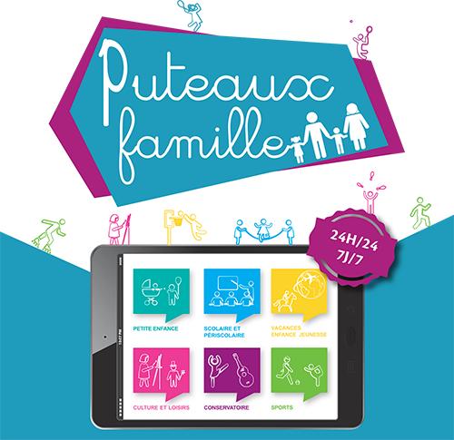 Puteaux Famille, plateforme ville e-services et paiements en ligne - GRC