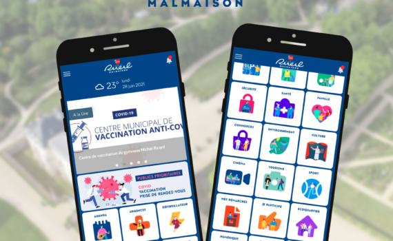 Smart app ville Vivre à Rueil